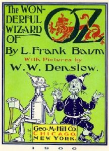 Book Cover - The Wonderful Wizard of Oz