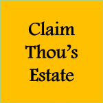 Claim Thou's Estate